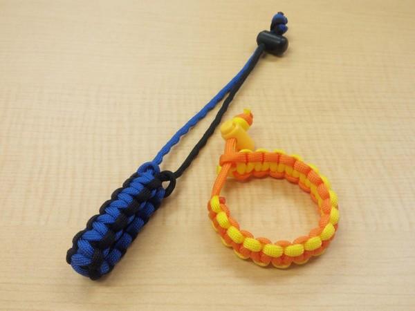野鳥の色のロープで編むブレスレットづくり.jpg