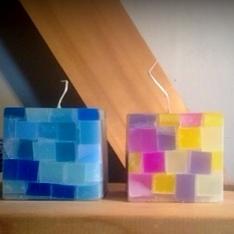 立方体キャンドルワークショップ
