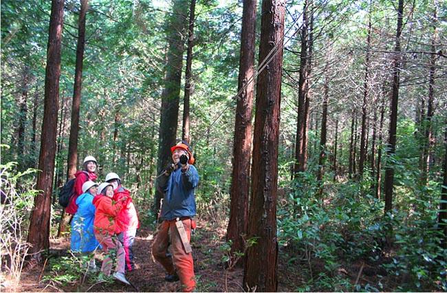 山で木こり体験【満員御礼〆切】